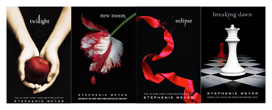 Image result for the twilight series books